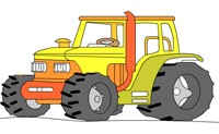 Tractor Coloring